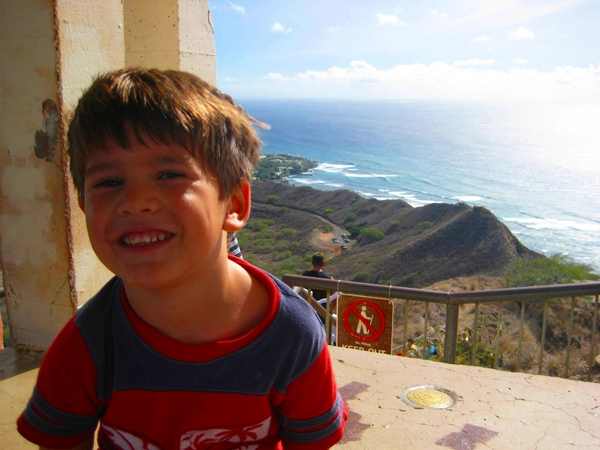 Diamond Head Crater Hike with Kids, Hawaii