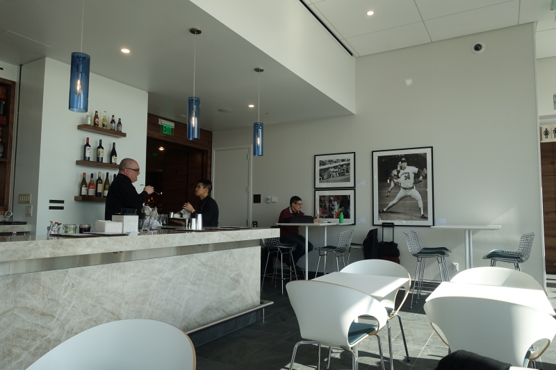 Expanded AMEX Centurion Lounge Seattle Review
