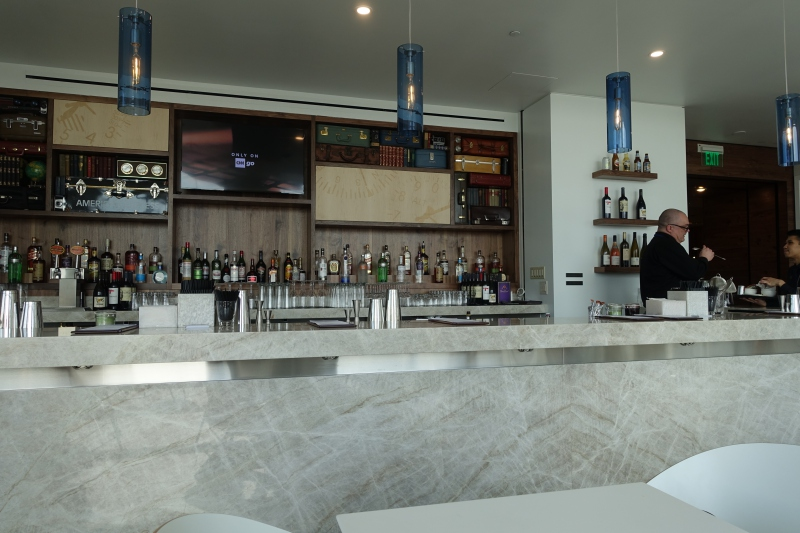 New Bar, AMEX Centurion Lounge Seattle Review