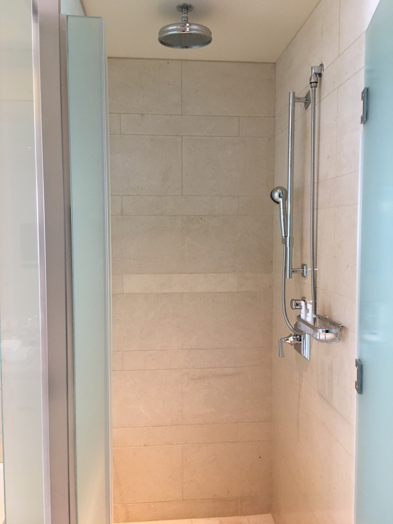 Rain Shower, The St. Regis San Francisco Review