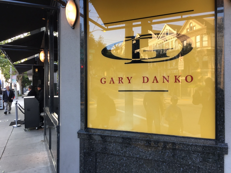 Restaurant Gary Danko: 800 North Point Street, San Francisco