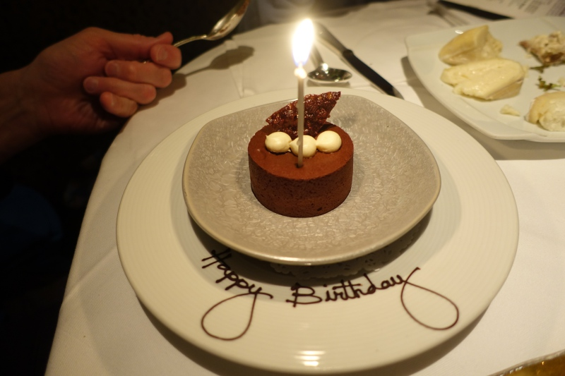 Birthday Dessert, Restaurant Gary Danko Review