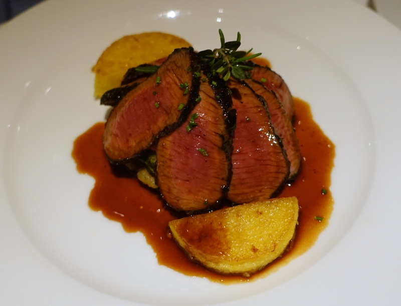 Herb Crusted Lamb with Polenta, Gary Danko Review