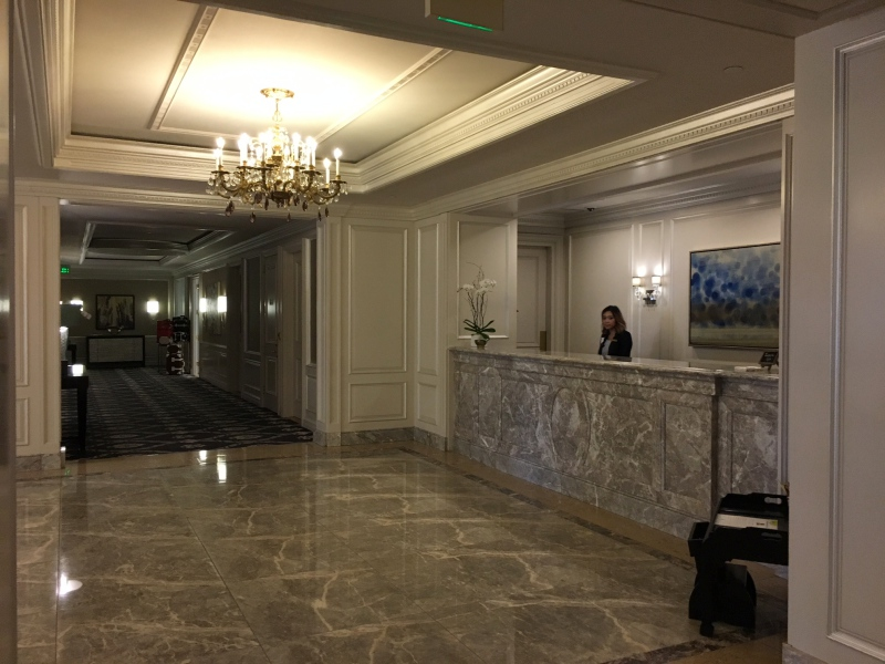 Ritz-Carlton San Francisco Front Desk Reception