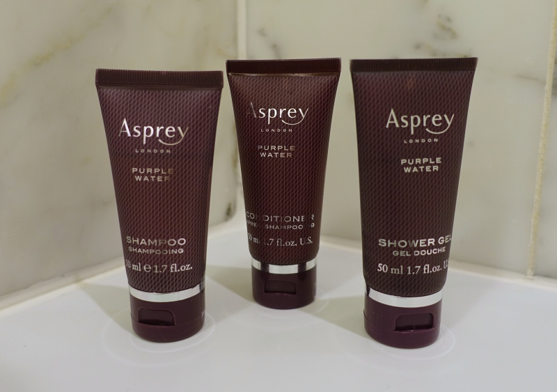 Asprey Purple Rain Bath Products, Ritz-Carlton San Francisco