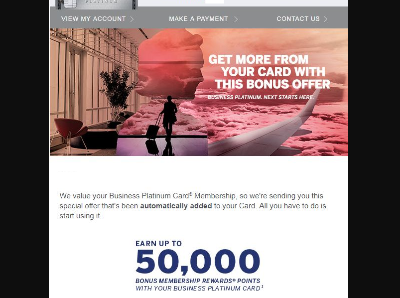 Amex Business Platinum 40 000 Points After Spending 5000