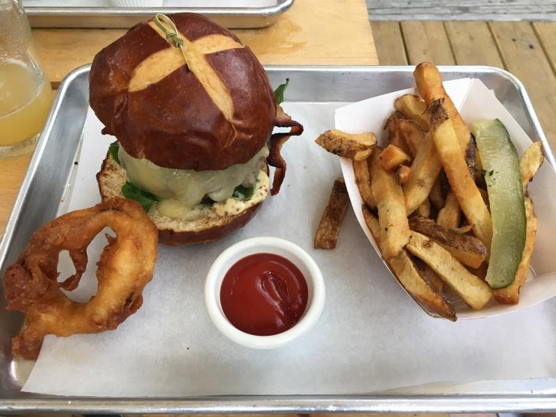 Bacon Burger, Lavender Lake Review