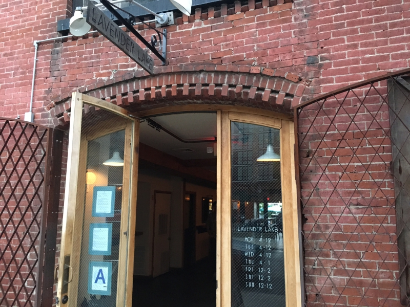 Lavender Lake, 383 Carroll Street in Gowanus, Brooklyn