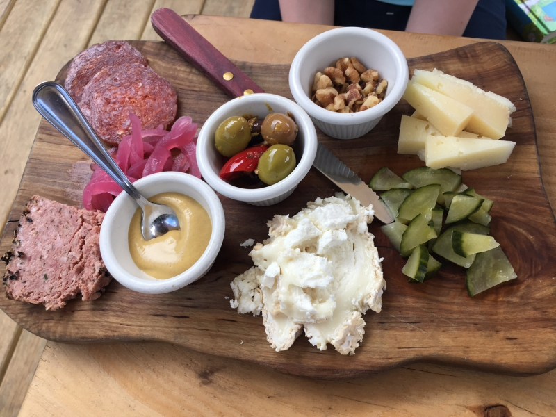 Charcuterie & Cheese, Lavender Lake Review