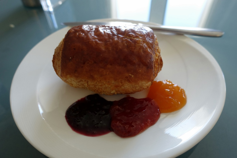 Pain au Chocolat with Jams