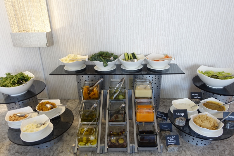 Salad Bar, Ritz-Carlton San Francisco Club Lounge Review