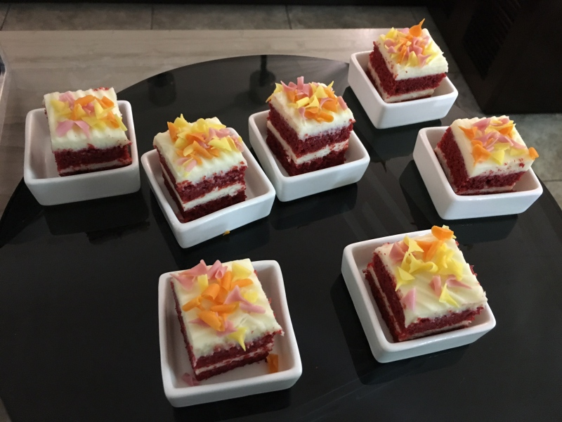 Red Velvet Cake, Ritz-Carlton San Francisco Club Lounge Review