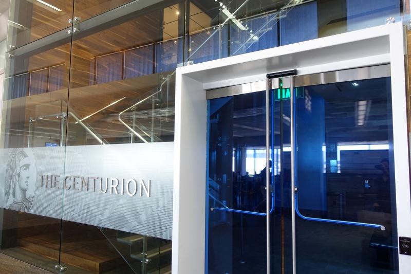 AMEX Centurion Lounge San Francisco Airport SFO, Terminal 3