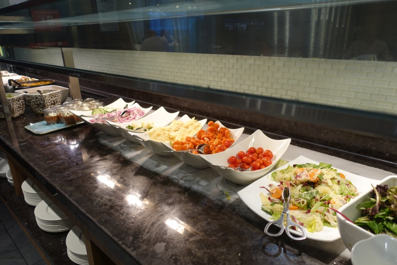 Salad Bar, AMEX Centurion Lounge SFO Review