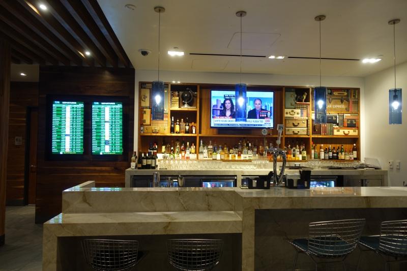 AMEX Centurion Lounge SFO Bar