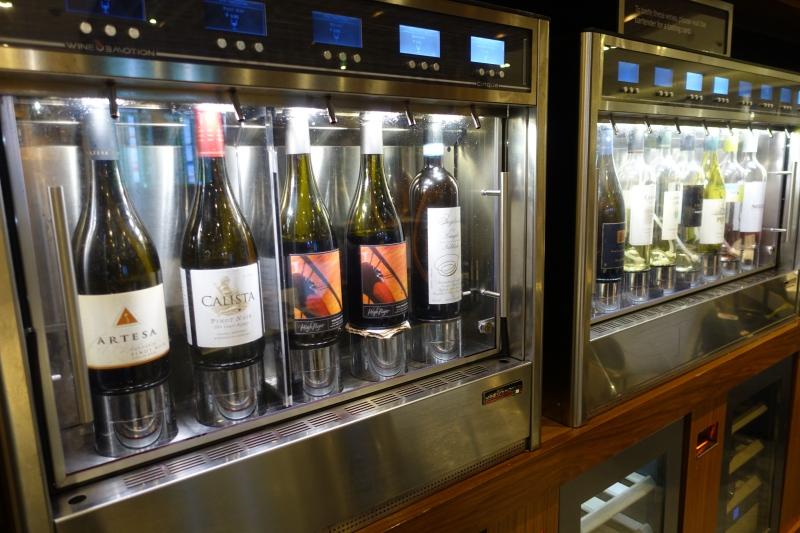 AMEX Centurion Lounge SFO Wine Tasting