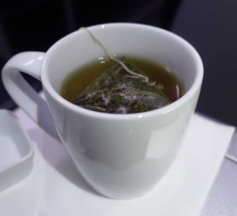 Peppermint Tea, JetBlue Mint Review