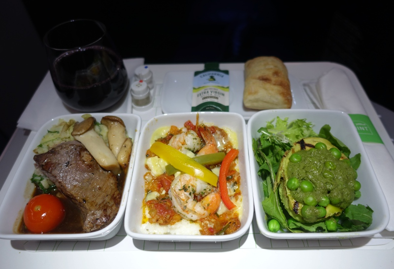 JetBlue Mint Dinner Review