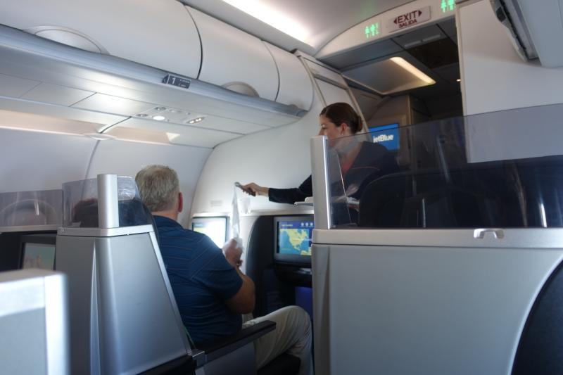 JetBlue Mint Business Class Cabin