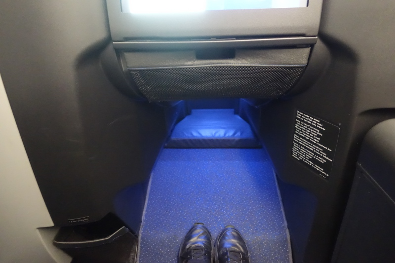 JetBlue Mint Business Class Leg Room