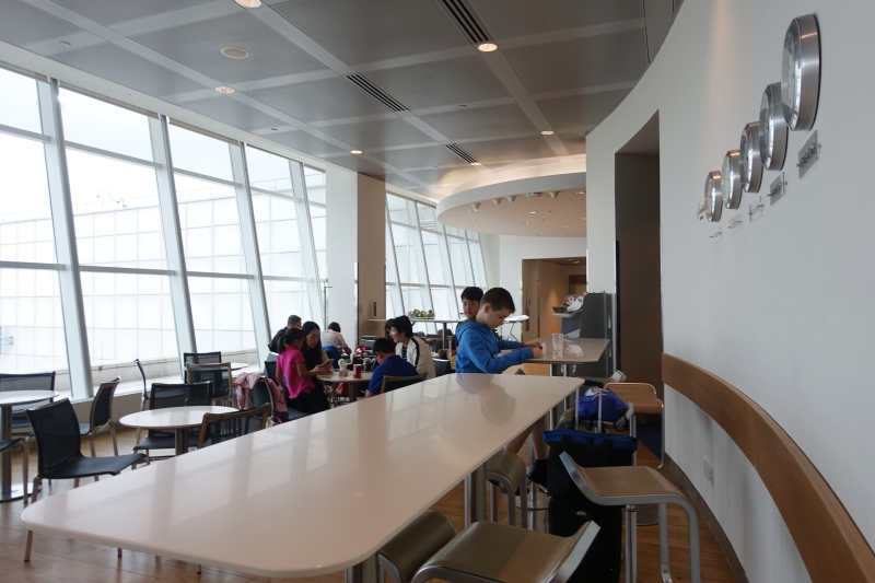 Bar Seating, Lufthansa Business Class Lounge JFK
