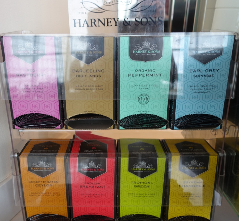 Harney & Sons Tea, Lufthansa Business Class Lounge JFK