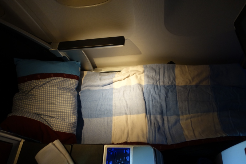 Austrian 767-300 Business Class Bed Review