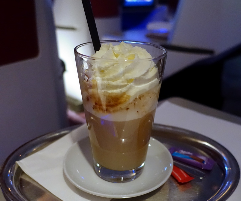 Wiener Eiskaffee, Austrian Business Class Review