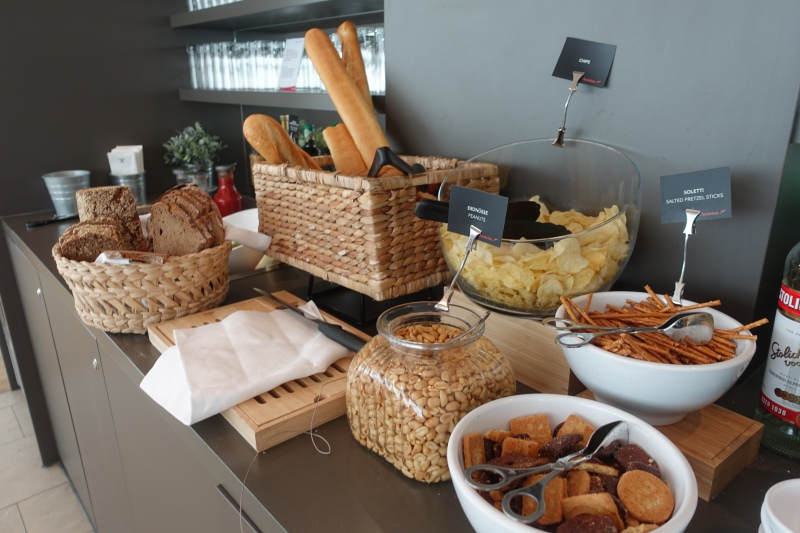 Breads, Austrian Business Class Lounge Review, Vienna Airport