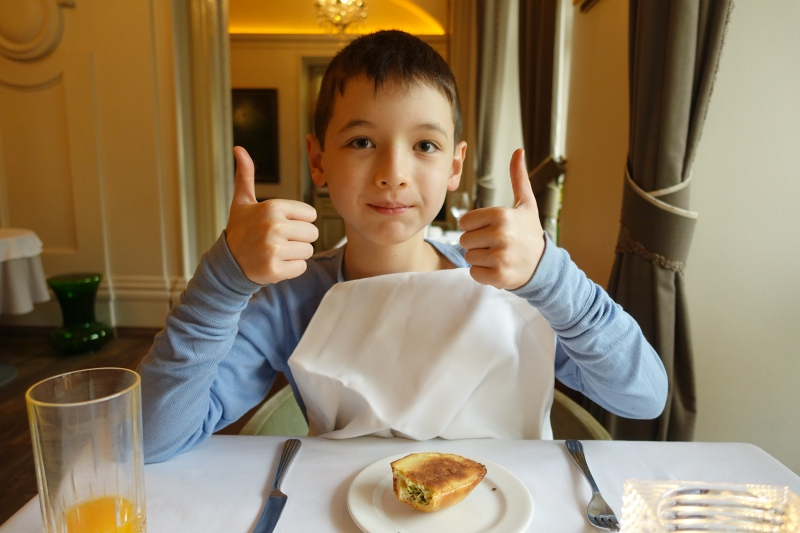 Two Thumbs Up for Dom Restaurant's Pirozhki