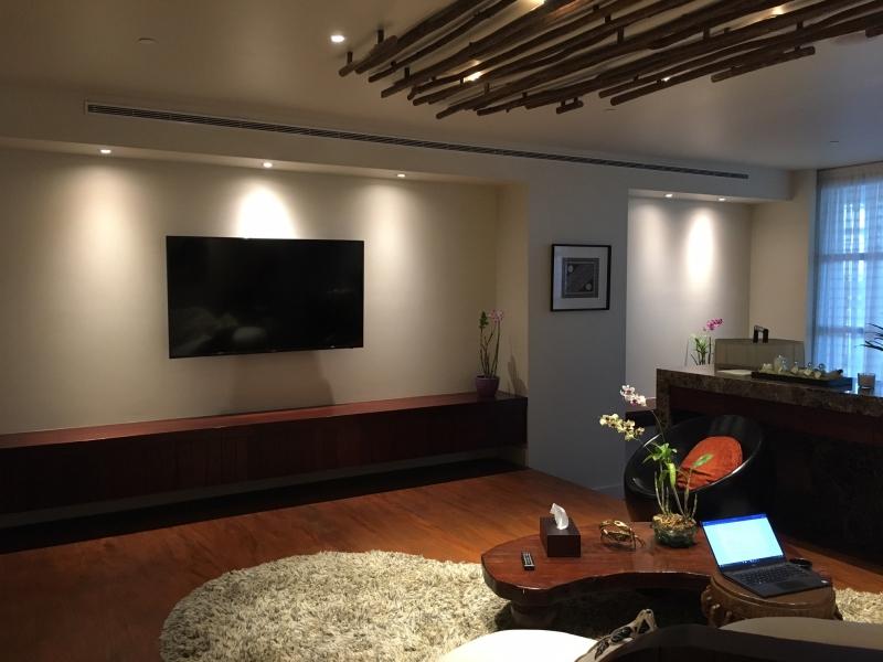 Laucala Lounge Review, Nadi - Flat Screen TV