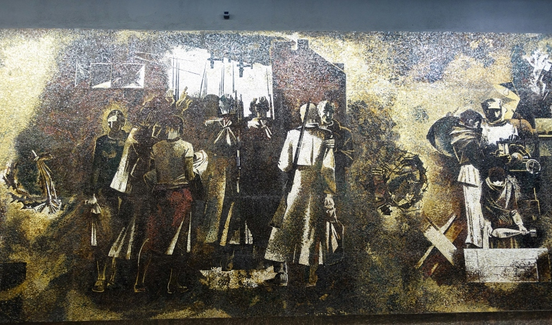 Mosaic of the Siege of Leningrad