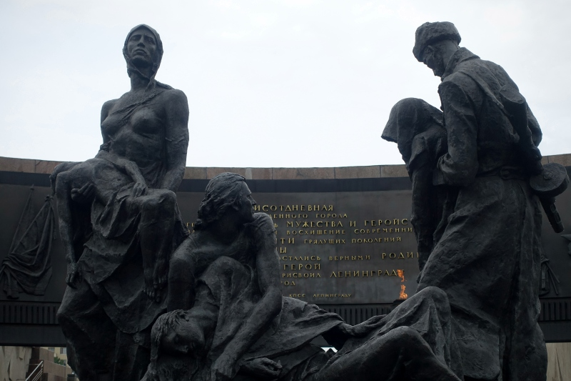 Siege of Leningrad Memorial: Starvation and Suffering During WWII