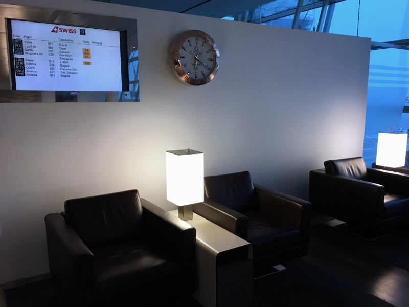 Seating and Flight Monitor, SWISS Lounge Review, JFK