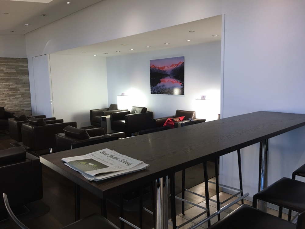 SWISS Lounge Review, JFK: Seating