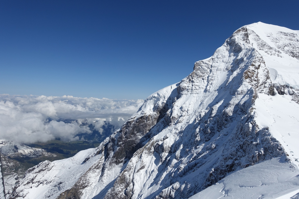 View from Jungfraujoch, Switzerland