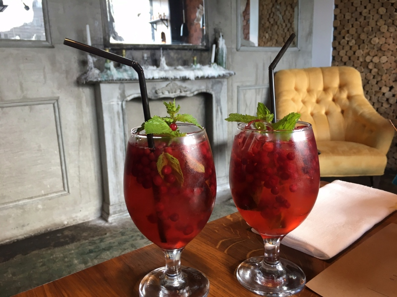 Lemonade with Red Currants and Mint, Taste to Eat Review