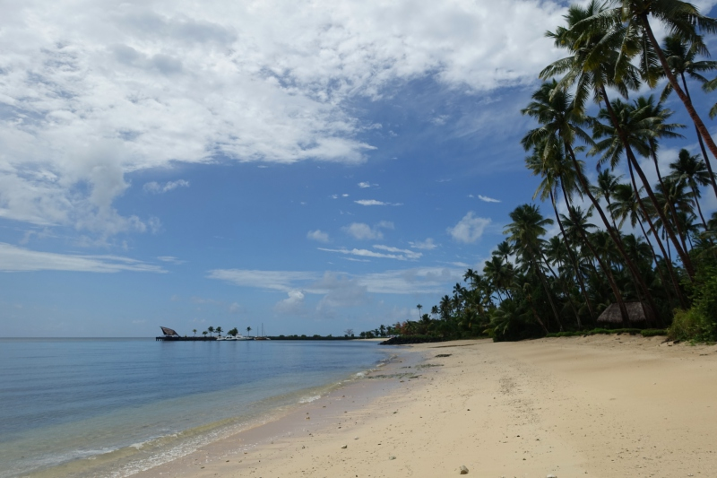 Laucala: Beach In Front of Plantation Villa