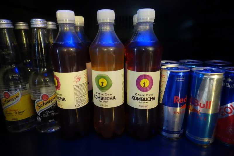 Laucala Soft Drinks, Including Red Bull