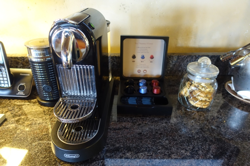 Laucala Nespresso Machine