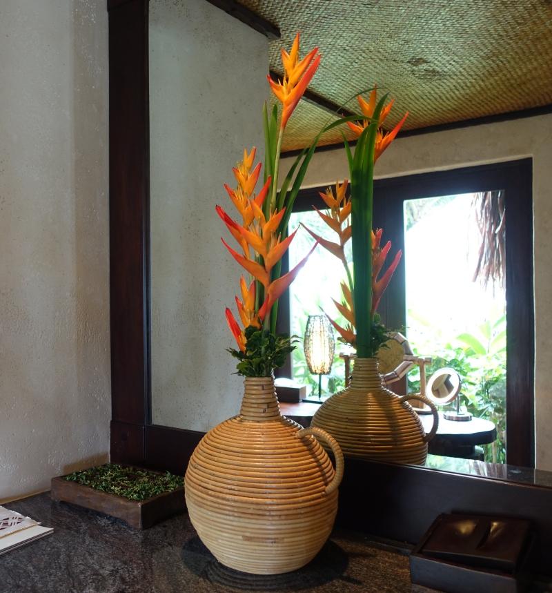 Laucala Plantation Villa Flowers