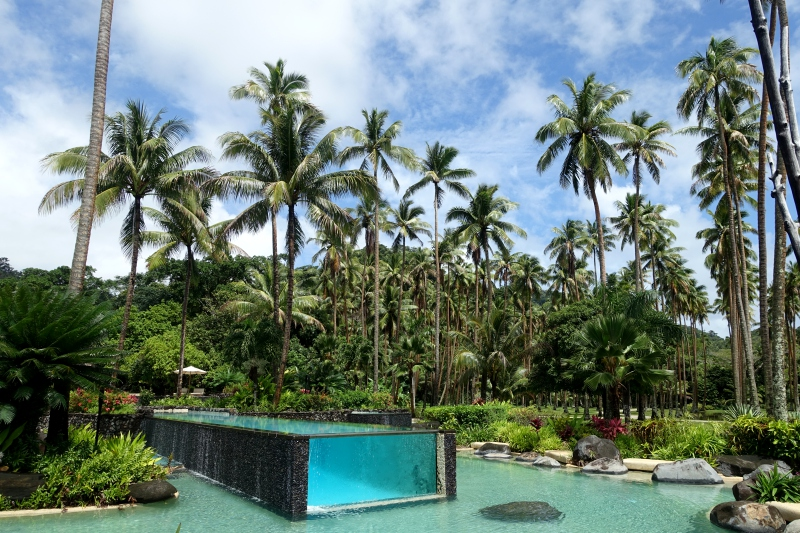 Laucala Island Resort Pools