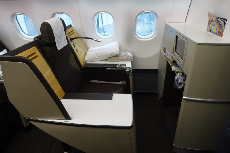 SWISS Business Class: Throne Seat