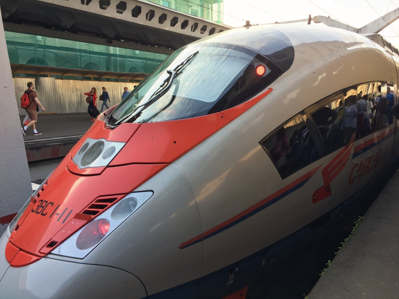 Review: Sapsan Train Business Class