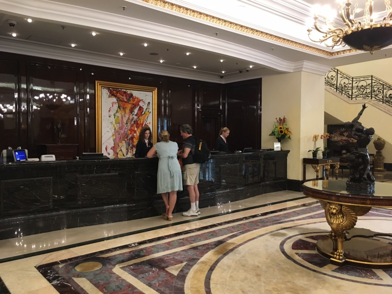 Ritz-Carlton Moscow Reception