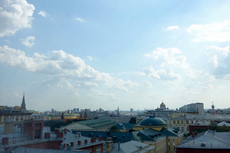 View from Ritz-Carlton Moscow Club Room
