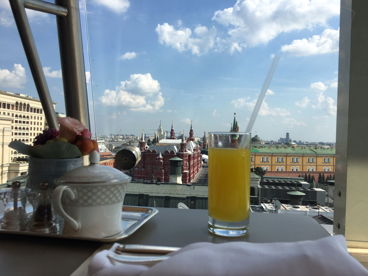 Review: Ritz-Carlton Moscow, Club Room
