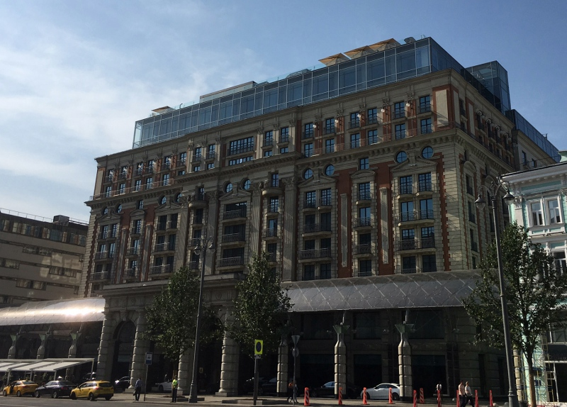 Ritz-Carlton Moscow Review