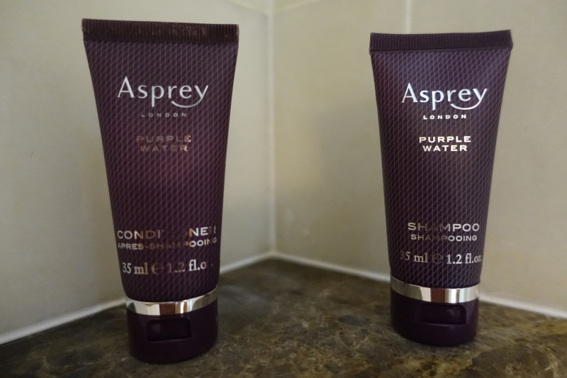Asprey Purple Rain Bath Products, Ritz-Carlton Moscow Review