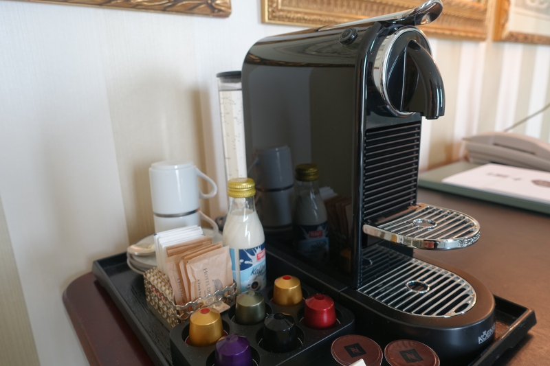 Nespresso Machine, Four Seasons Geneva Review